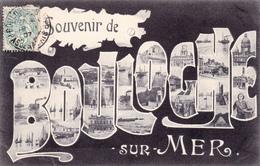 62 BOULOGNE SUR MER - Souvenir De  - CPA 9x14  N/B  TBE - Boulogne Sur Mer