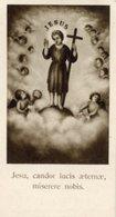 Santino Antico JESU, CANDOR LUCIS AETERNAE, MISERERE NOBIS - OTTIMO P40 - Religione & Esoterismo