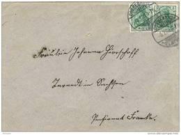 28551. Carta COSSEBAUDE (Alemania Reich)  ELB. 1909. Valkiria - Cartas