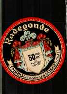 Etiquette De Fromage - Camembert RADEGONDE   Vosges - Fromage