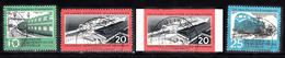 Train, Eisenbahn, Locomotive, Railway: DDR 1960 Mi Nr  804, 805 A, 805 B +806 Compleet - Treinen