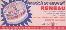 Buvard Fromage RENEAU  BIM-EXQUIS 40 % - Blotters