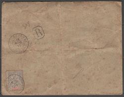 MADAGASCAR:  N°44(+69 Au Verso) Sur LSC REC. De BETROKA (1914) - Madagascar (1889-1960)