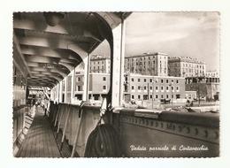CT--02497-- CIVITAVECCHIA-VEDUTA PARZIALE DI CIVITAVECCHIA-VIAGGIATA 1953 - Civitavecchia