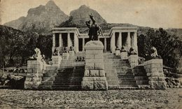 RHODES MEMORIAL AND ENERGY STATUE, GROOTE SCHUUR   Sudafrica, SOUTH AFRICA , Afrique Du Sud - Sudáfrica