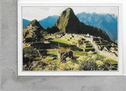 CARTOLINA NV DE AGOSTINI - PERU - Machu Picchu - La Famosa Città Inca - Vedute Dal Mondo - 10 X 15 - Perù