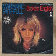 "7"" Single, Marianne Faithfull, Broken English - Disco, Pop"