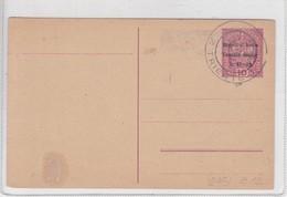 ENTERO ENTIER POSTAL STATIONERY VENEZIA GIULIA TRIESTE OBLITERE, 1918. ITALY.-BLEUP - 1900-44 Victor Emmanuel III