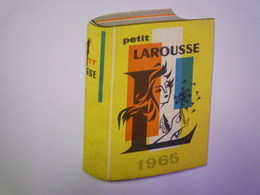 MINI CALENDRIER  PUB  LAROUSSE  1965  (format  6,5 X 9cm)   XXX - Calendars