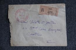 Lettre Recommandée D'ALBI à CASTRES - 1942. - Lettres & Documents