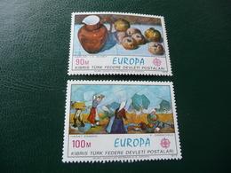 TIMBRES   TURQUIE  CHYPRE    EUROPA      1975   N  14 / 15   COTE  4,00  EUROS   NEUFS  LUXE** - Europa-CEPT