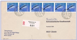 R.Zürich 59 Rieterplatz 9.7.91 Bande De Timbres Europa - Suisse