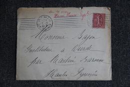 Lettre De PARIS Vers OURDE (65) - Lettres & Documents