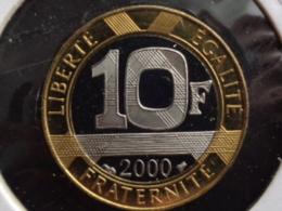 10 FRANCS GENIE DE LA BASTILLE B.E 2000 FDC DU COFFRET - France