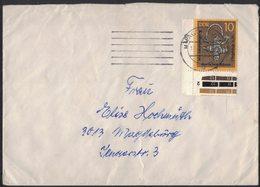 AL8   Brief DDR 1978 Mi.2003 Für Magdeburg - Briefe U. Dokumente