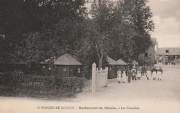 76 Saint Wandrille  Rançon . Restaurant Du Moulin - Saint-Wandrille-Rançon
