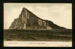 GIBRALTAR - View Of The Rock From Santa Barbara - Unused - Gibraltar