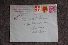 Lettre De PARIS Vers TOULOUSE - Lettres & Documents