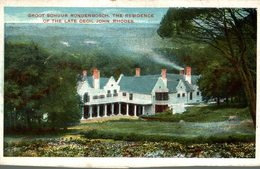 THE RESIDENCE OF THE LATE CECIL JOHN RHODES   Sudafrica, SOUTH AFRICA , Afrique Du Sud - Sudáfrica