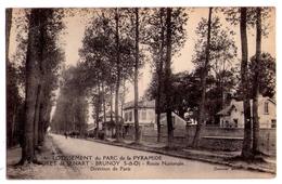 1269 - Brunoy ( S.et O. ) - Lotissement Du Parc De La Pyramide ( Forêt De Sénart ) - Route Nationale - Oxenaar Ph. - - Brunoy