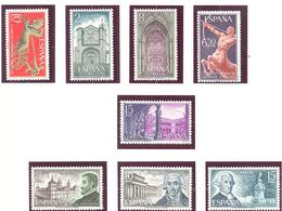 Espagne: Yvert N° 1765/1767 1771/73**; MNH; Saint Thomas - 1931-Aujourd'hui: II. République - ....Juan Carlos I