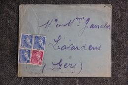 Lettre De GALAN (65) Vers LAVARDENS (32) - Lettres & Documents