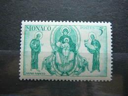 Madonna With Saint Peter And Isaiah # Monaco 1951 MNH # Mi. 433 - Neufs