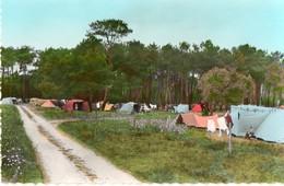 41. CPSM.  SAINT GEORGES SUR CHER. Le Camping Au Bord Du Cher.  1963. - Autres Communes