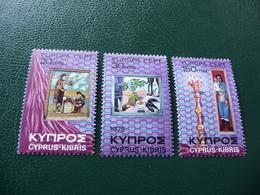 TIMBRES   CHYPRE     EUROPA   1975   N   420  A  422   COTE  2,25  EUROS   NEUFS  LUXE** - Europa-CEPT