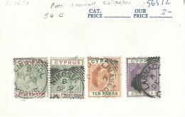 56572 ) Cyprus   Postmark Cancel - Chypre (...-1960)