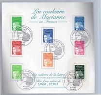 Les Couleurs De Marianne Block 2001 VF Used (195) - Blocs & Feuillets
