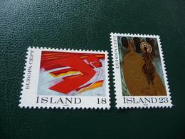 TIMBRES   ISLANDE     EUROPA   1975   N   455 / 456   COTE  2,00  EUROS   NEUFS  LUXE** - Europa-CEPT