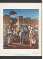 Documentation Pédagogique Rossignol 1963 / Art,Peintre / Delacroix,Mouley Abd-er-Radman,Sultan Du Maroc - Alte Papiere
