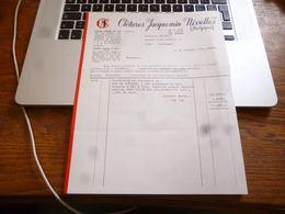 FF5  Document Commercial    Clotures Jacquemin Nivelles - Belgique