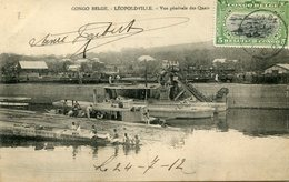 CONGO BELGE(LEOPOLDVILLE) BATEAU - Kinshasa - Léopoldville