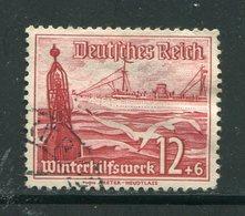 ALLEMAGNE (IIIe Reich)- Y&T N°599- Oblitéré (bateau) - Allemagne