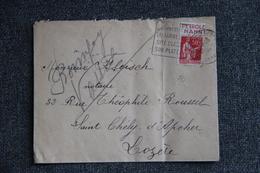 Lettre De CHENNEVIERES SUR MARNE Vers ST CHELY D'APCHER - Lettres & Documents