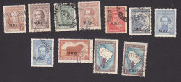 Argentina, Scott #OD347-OD357, Used, Regular Issues Overprinted, Issued 1913-37 - Oficiales