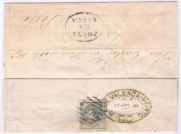 Portugal, 1881, # 54 A, Dent. 13 1/2, Para O Porto - Cartas
