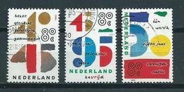 1995 Netherlands Complete Set UNO Victory Used/gebruikt/oblitere - Used Stamps