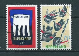 1989 Netherlands Complete Set Labour Association Used/gebruikt/oblitere - Period 1980-... (Beatrix)