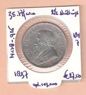 ZUID AFRIKA 2 1/2 SHILLINGS 1897 SILVER KM7 - Afrique Du Sud
