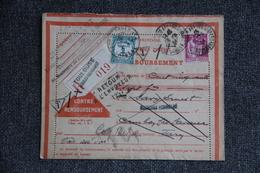 Lettre Taxée Recommandée De TOULOUSE Vers CAMBON Les LAVAUR - Lettres & Documents