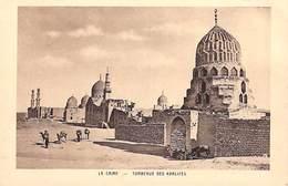 Egypte-Egypt LE CAIRE Cairo Tombeaux Des Khalifes (- Editions Braun 170) *PRIX FIXE - Cairo