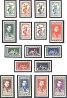 Cambodge:Yvert N° 1/17**; MNH;1ere Série Courante; Apsara; Cote 125.00€; A Saisir - Cambodia