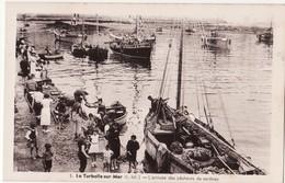 44 LA TURBALLE SUR MER -- L'Arrivée Des Pêcheurs De Sardines ( Belle Animation )  N° 3 - La Turballe