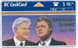 CANADA: CAN-L-01 First L&G Phonecard. Rare (1993) - Canada