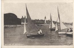 CPA Sailing At Shoreham - Non Circulée - Angleterre