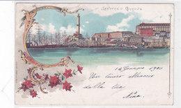 CARD GENOVA   LANTERNA DI GENOVA  ART NOUVEAU VELIERI  -FP-V-2-0882- 28103 - Genova (Genoa)