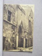 MONDOSORPRESA, RHODES RODI, MUSEO ARCHEOLOGICO, OSPEDALE DEI CAVALIERI, PORTA  (1920 CIRCA) NON VIAGGIATA - Grecia